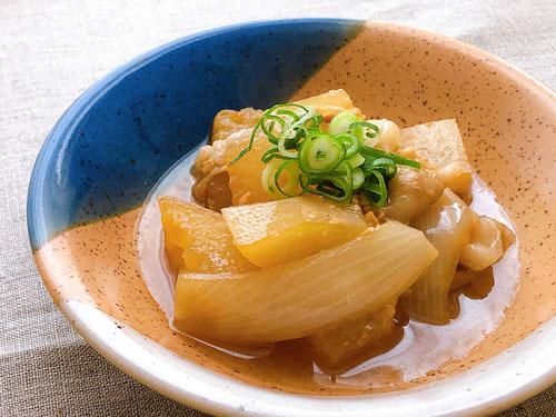 冬瓜の味噌煮込み