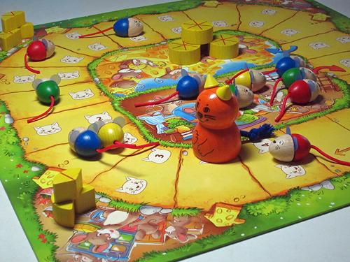 4歳向けねことねずみのゲーム