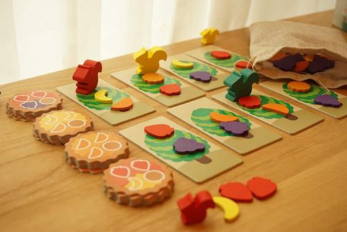 4歳向けボードゲーム